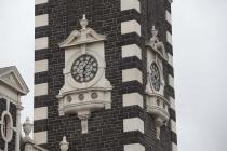 Turmuhr am Bahnhofsgebäude