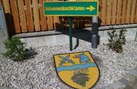 Wegweiser zur Johannesbachklamm