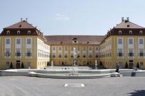 Blick auf das Schloß Schlosshof