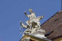 Figur auf Schloss Eckartsau