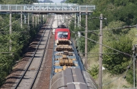 Güterzug mit Taurus