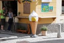 Eisgeschäft in St. Michael