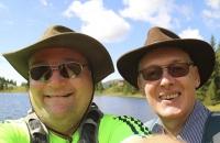 Hans & ich am Schwarzsee