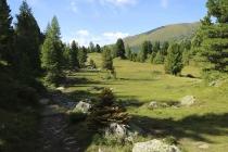 Landschaft beim Schwarzsee