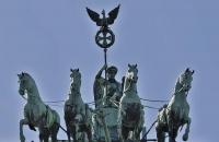 Statuen auf Brandenburger Tor