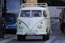 Ein ganz alter VW-Bus