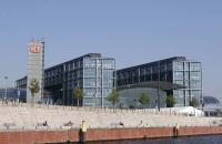 Gebäude der DB nahe dem Hauptbahnhof