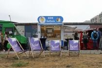 Ein DDR Softeis-Stand