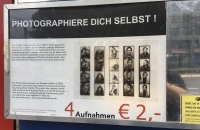 Hinweis auf das Projekt Photoautomat