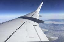 Tragflächen des A320 nach Frankfurt
