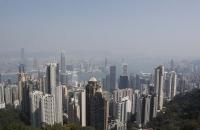 Skyline von Hong Kong
