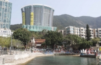 Bauten an der Repulse Bay