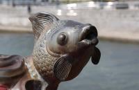 Fischfigur nahe der Repulse Bay