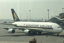 Airbus A380 macht sich auf die Reise