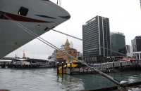 Am Harbor von Auckland