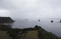 Ausblick nahe der Cathedral Cove