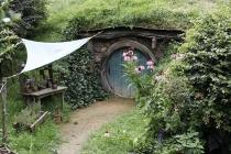 Einer von mehreren Hobbit-Bauten
