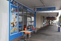 Schlichtes Cafe in Te Ahora