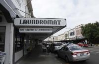 Einkaufsstrasse in Napier