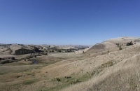 Landschaft auf dem Weg nach Castleport
