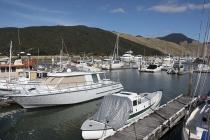 Im kleinen Hafen von Havelock