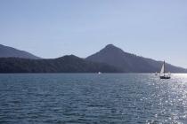 Segelboote im Sound