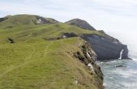 Kliff am Cape Farewell