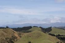 Erster Blick über die Golden Bay