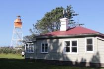 Leuchtturm und Leuchtturmwärter Haus