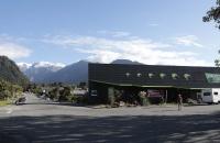 Der kleine Ort Franz Josef