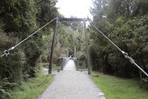 Wieder eine Hängebrücke