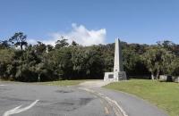 Denkmal beim Knights Point