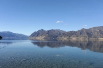 Lake Hawea vom Campingplatz