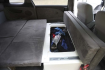 Stauraum unter der Sitzfläche