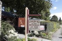 Nettes Schild in Cardrona
