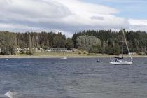 Links sieht man den Campground