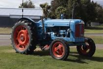 Alter Traktor in Te Anau