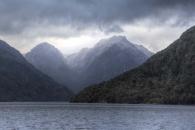 Berge im Fjordland