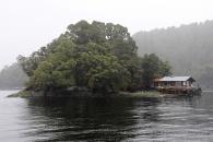 Ein Fischerhaus im Doubtful Sound