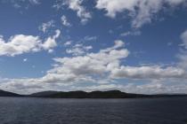 Wolkenstimmung über dem Lake Manapouri