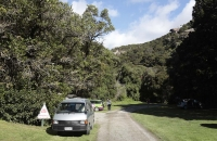 Kleiner Campingplatz bei Trotters Gorge