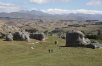 Elephant Rocks in der Landschaft