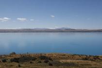 Lake Pukaki am frühen Nachmittag