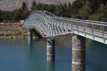 Brücke beim Lake Tekapo