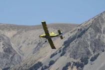 Flugzeug über dem Lake Pearson