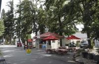 Imbißstand in Hanmer Springs