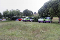Mein schräger Stellplatz in Akaroa