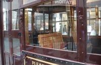 Blick in Tram