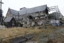 Zerstörte Kathedrale