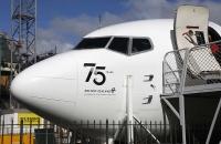 Vorderteil einer Boeing 737-300